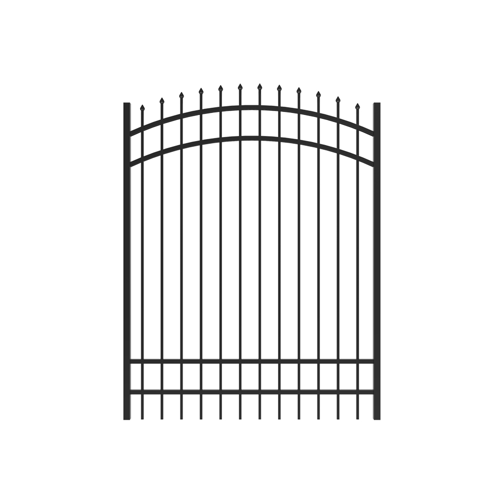 6' x 5' Marble Arched Gate