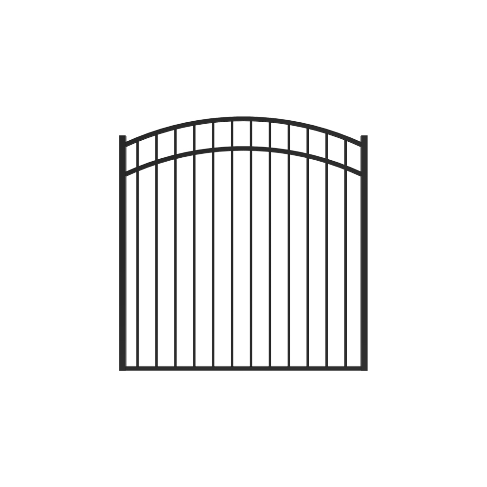 4 1/2' x 5' Granite Arched Gate