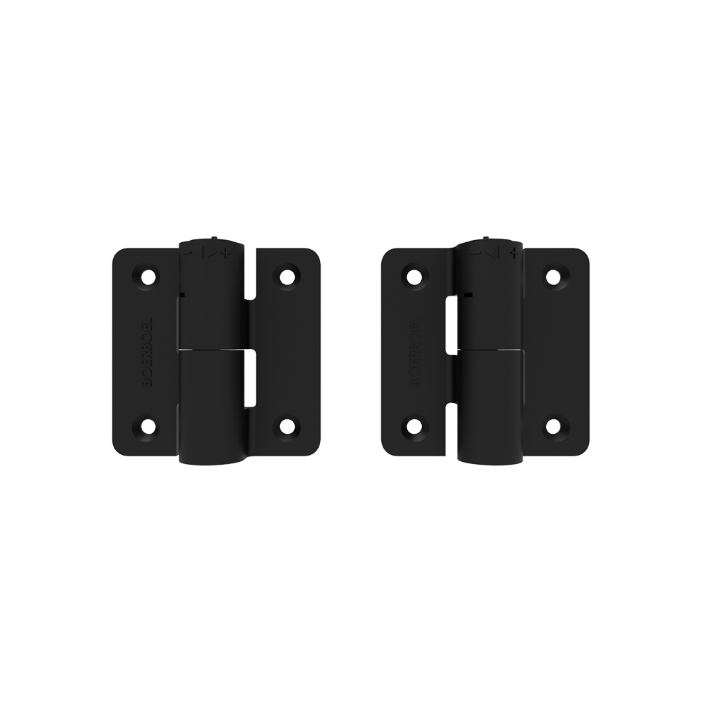 Boerboel® Compact Butterfly Hinge - 1'' Upright